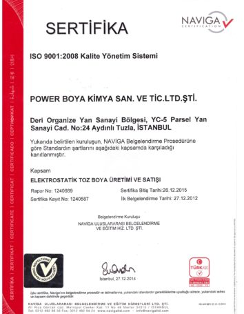 ISO 2015 001